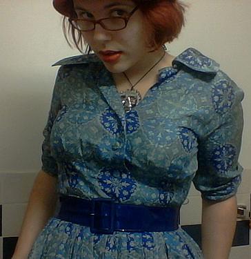 anachronism in blue