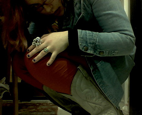 red pants I