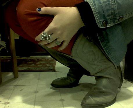red pants II