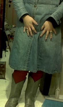 red pants VIII