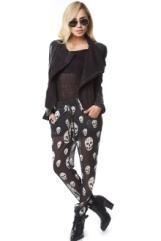 skull pants