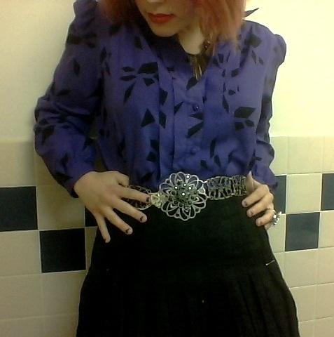 purple blouse II