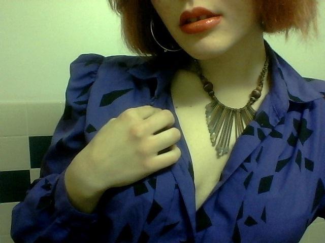 purple blouse IV