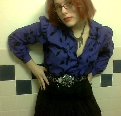 purple blouse VI