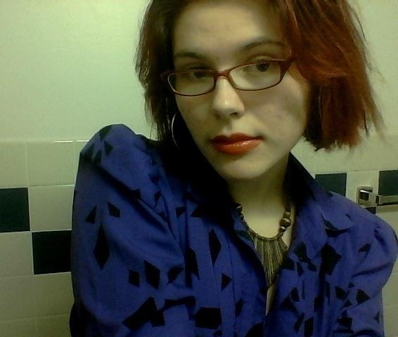 purple blouse VIII