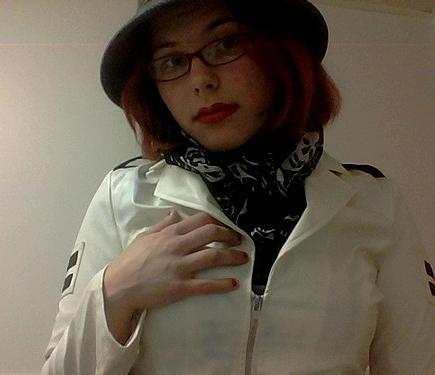 white jacket I