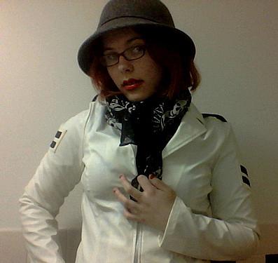 white jacket IX