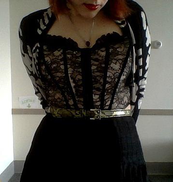 corset goth IX