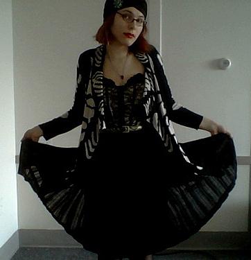 corset goth X