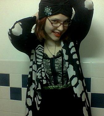 corset goth XI