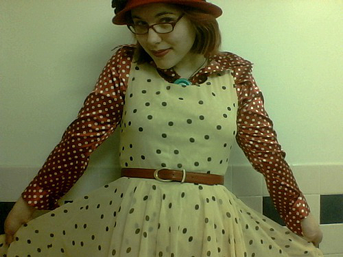 dot dress IV