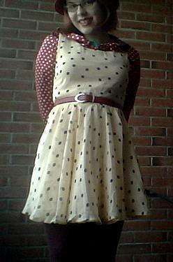 dot dress X