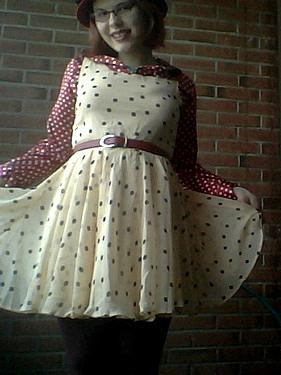 dot dress XI