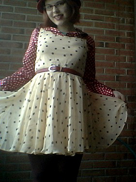 dot dress XI