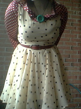 dot dress XII