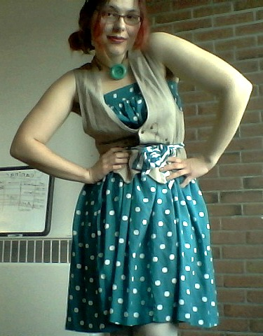 blue dotted XI