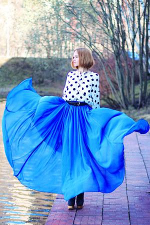 blue maxi lidia