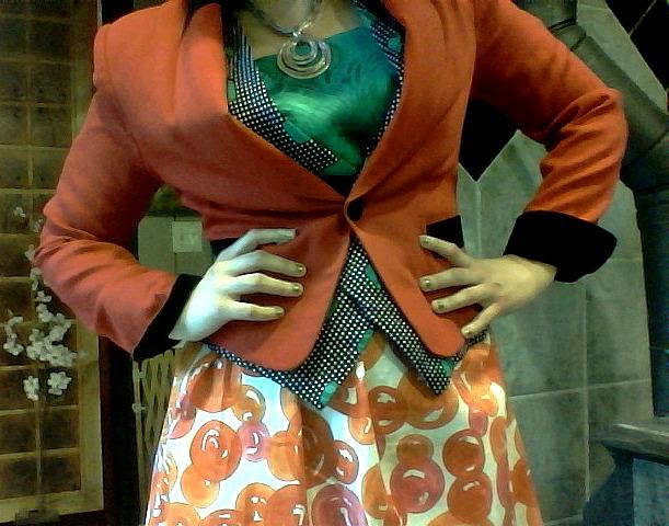 busy orange VII