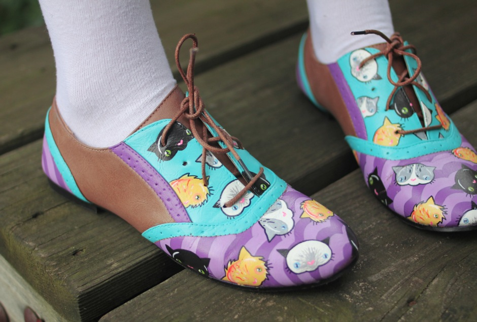 cat shoes dainty squid
