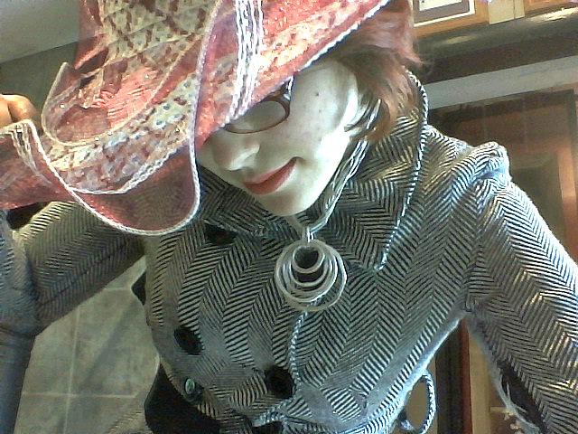 floral hat I