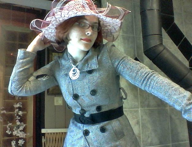 floral hat IX