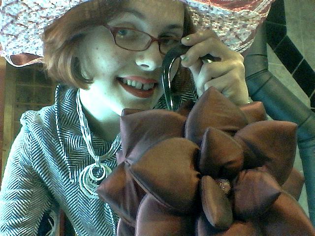 floral hat VII