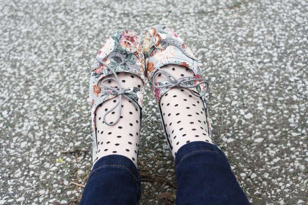 floral shoes dainty squid