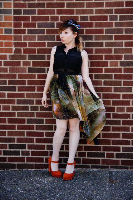 galaxy skirt midwest muse