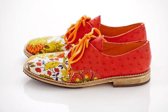 handmade shoes dainty squid