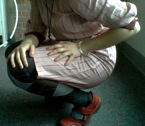 pink stripes VIII