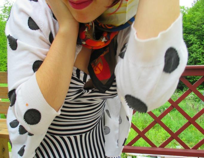 stripes and dots IX