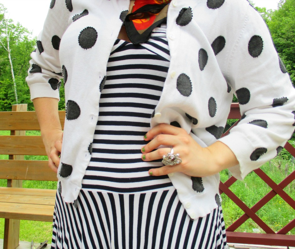 stripes and dots VI