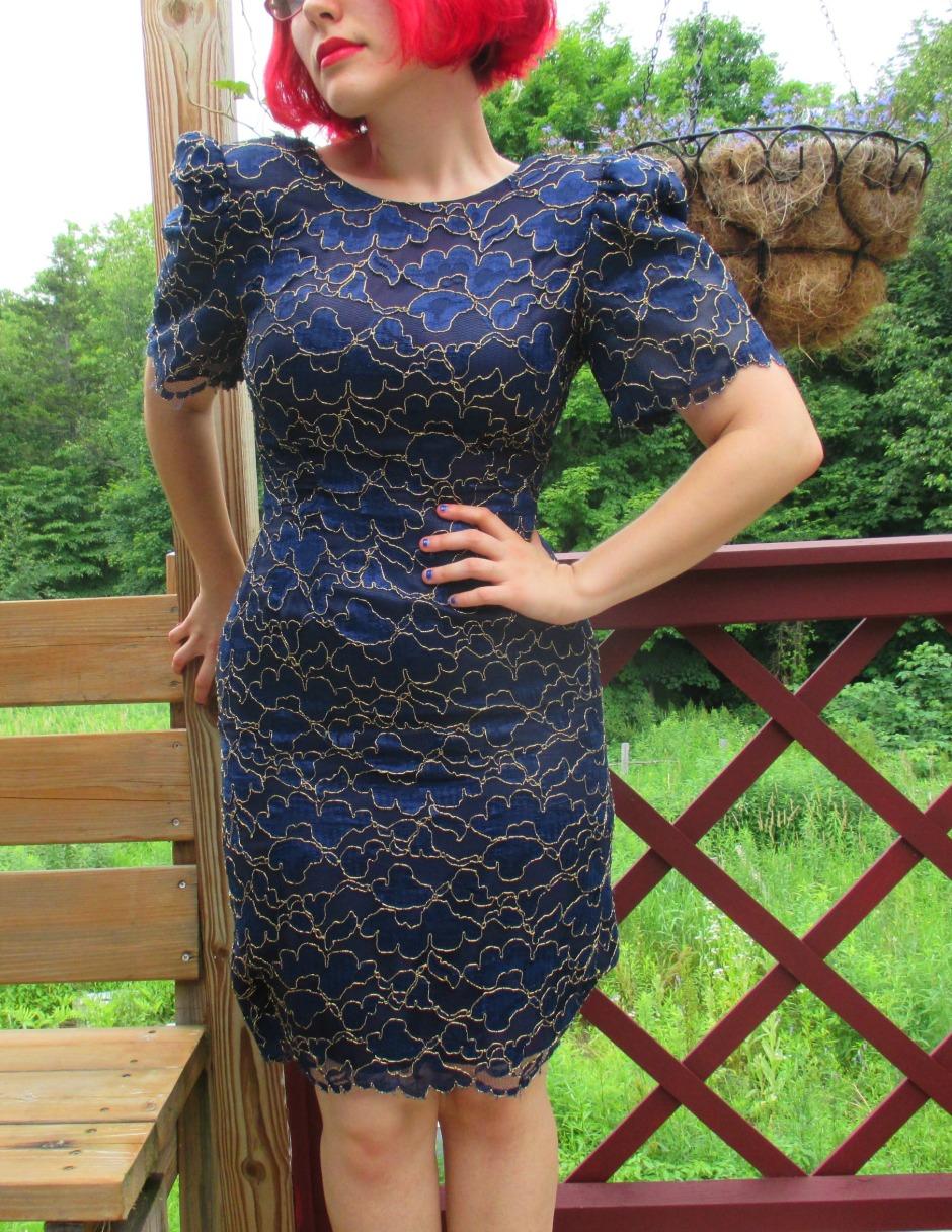 blue lace I