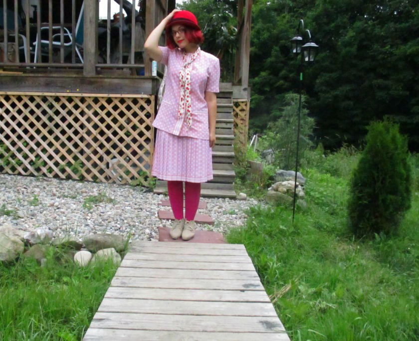 pink suit IV