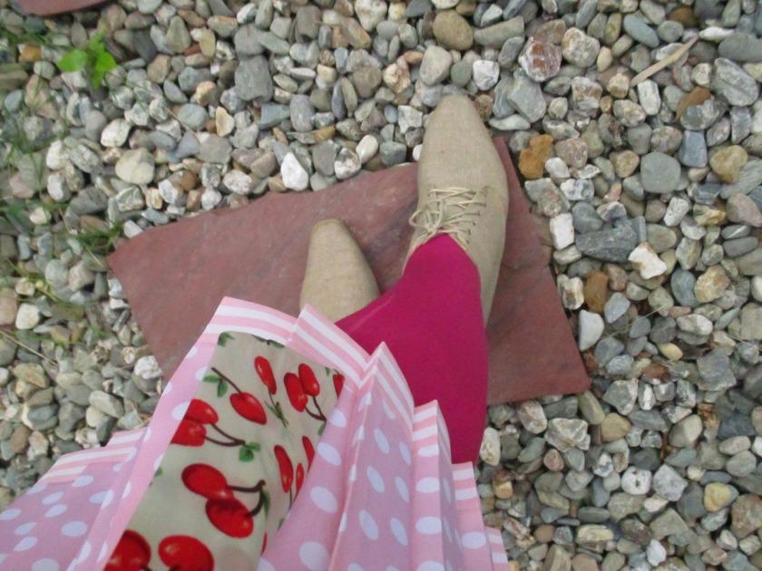 pink suit XVI
