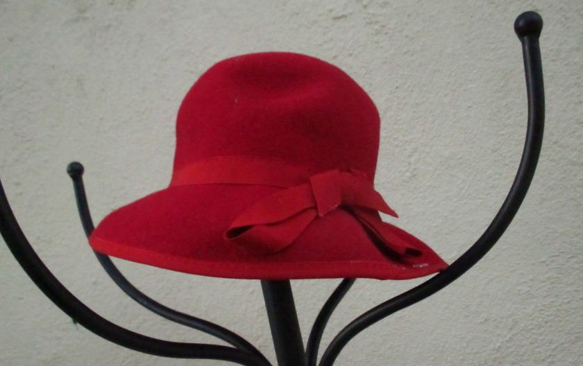 small red hat I