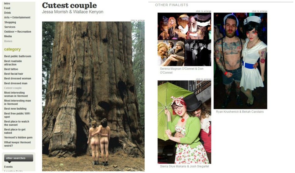 couple collage