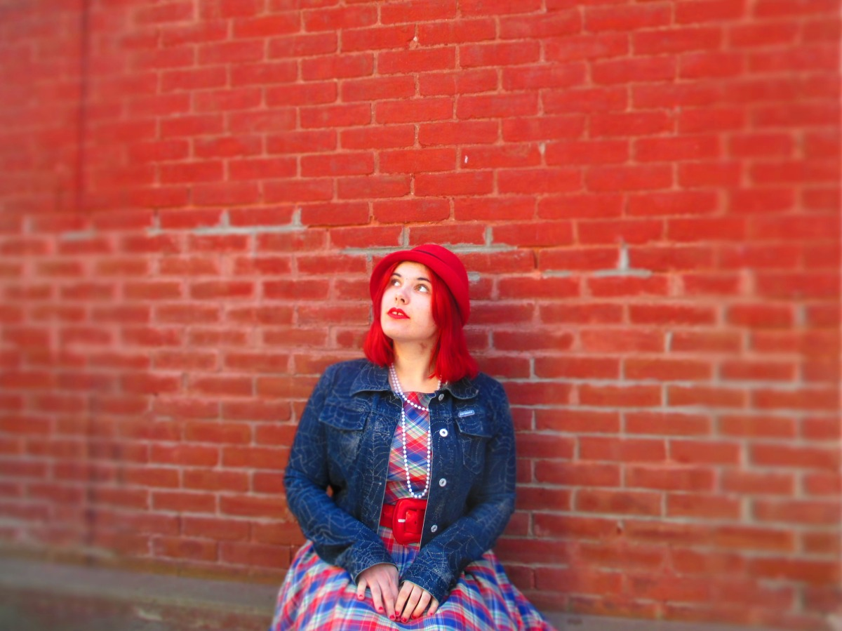 plaid, petticoat, & an assault on the eyeballs